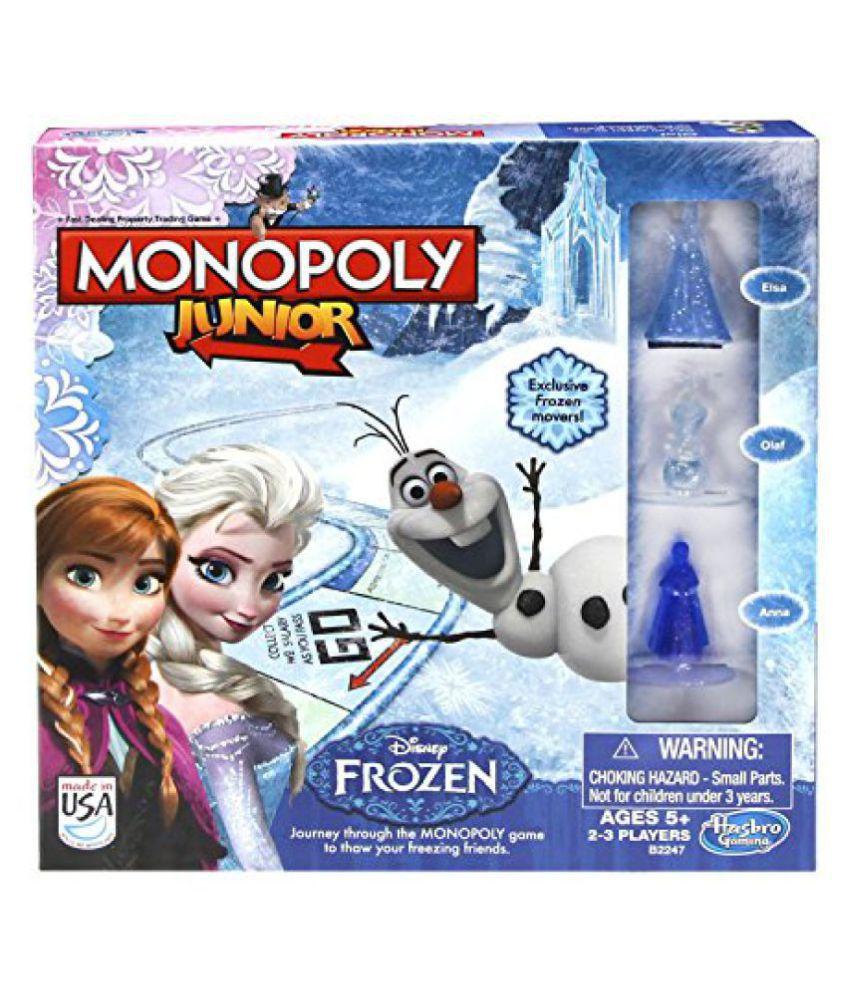 Funskool-Hasbro Monopoly Jr - Frozen