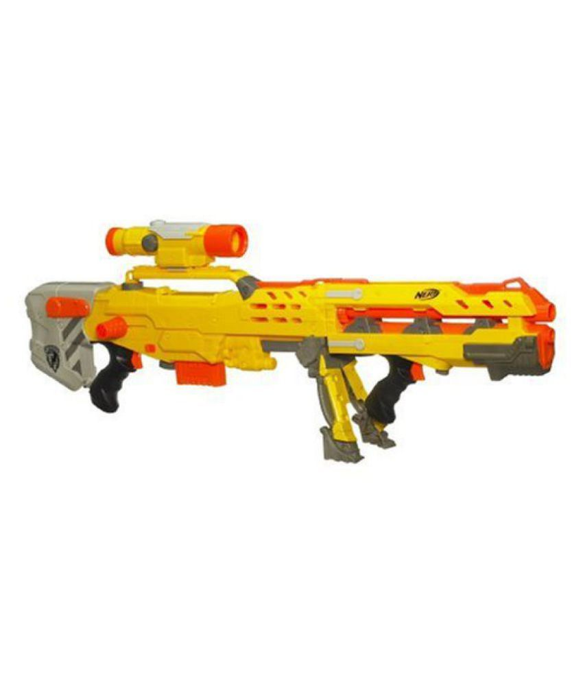 Funskool Nerf N-Strike Long Shot Blaster