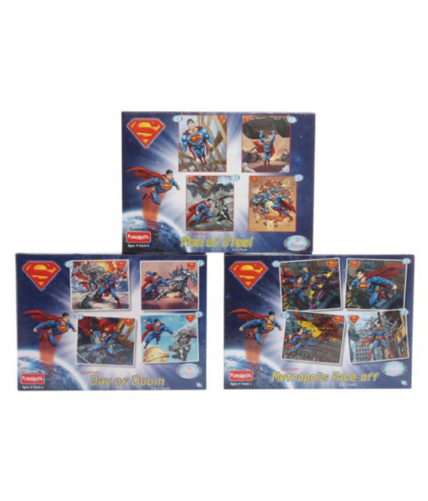 Funskool Superman 4-in-1 Man of Steel