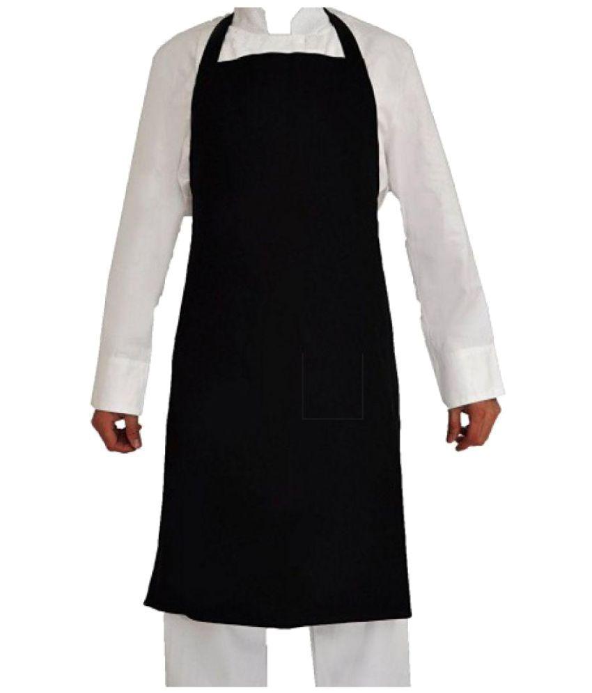Buy white apron online - Hansafe Single Poly Cotton Apron