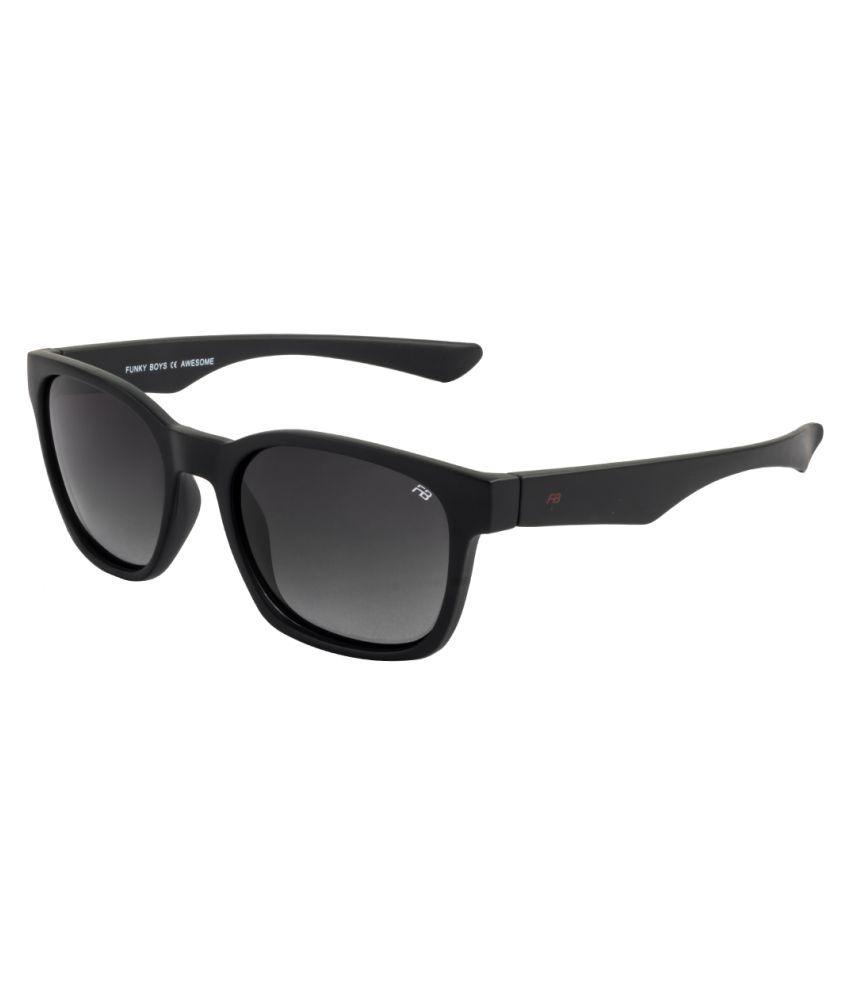 Funky Boys Grey Wayfarer Sunglasses ( FB-3096-C1 )