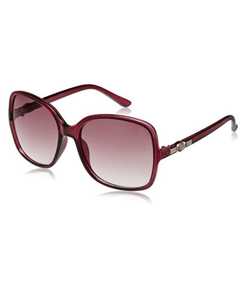 GIO Collection Oversized Sunglasses (Purple) (P12319)