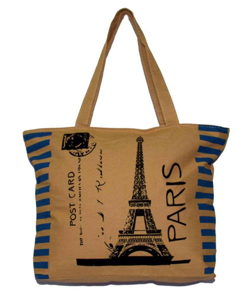 Arip Multi Fabric Shoulder Bag