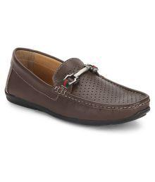 Carlton London Brown Loafers
