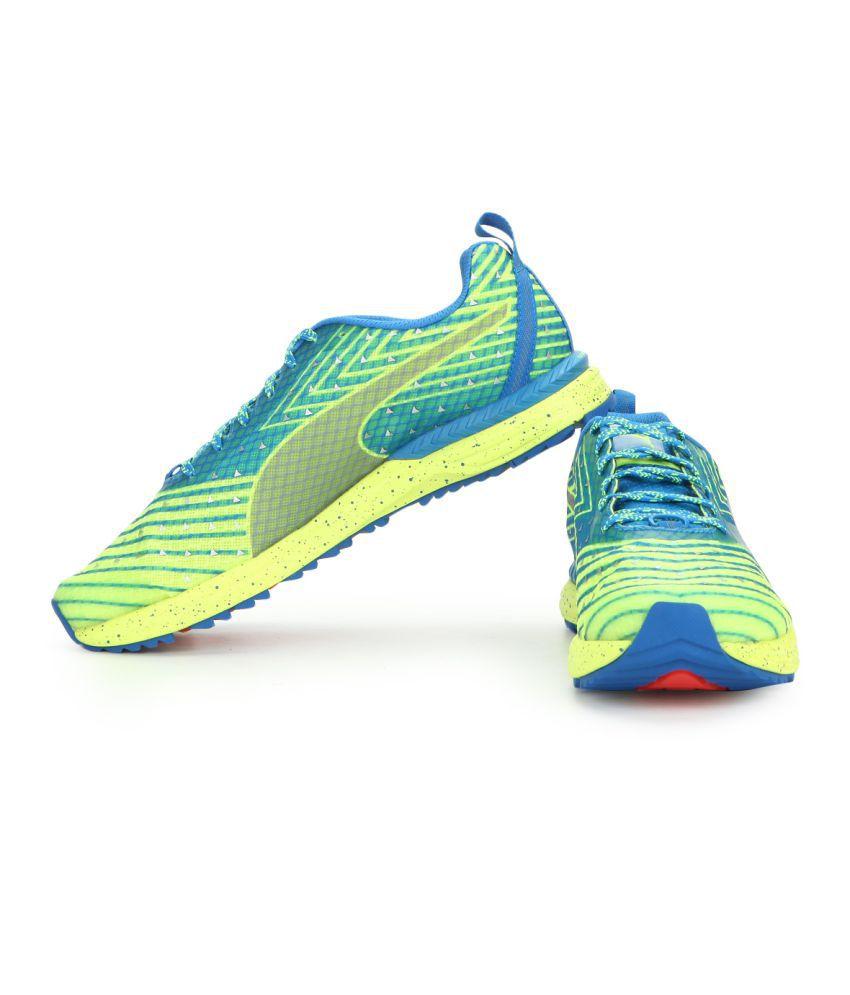 Puma Speed 300 TR IGNITE Yellow Running Shoes - Buy Puma Speed 300 ... d464a620f