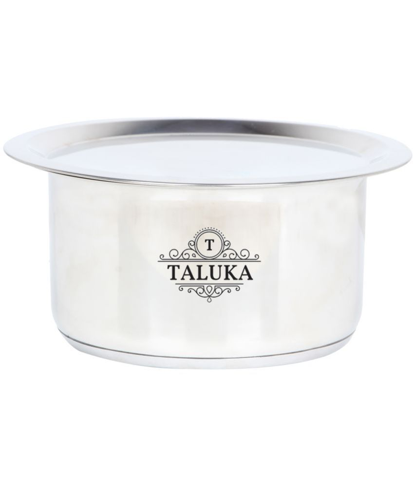 Taluka Stainless Steel Tope Capacity :- 3 5 L No Coating Stainless Steel  Tope 25 3500