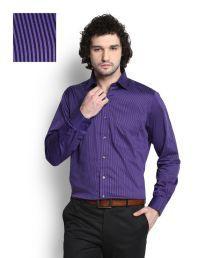 Van Heusen Purple Shirt