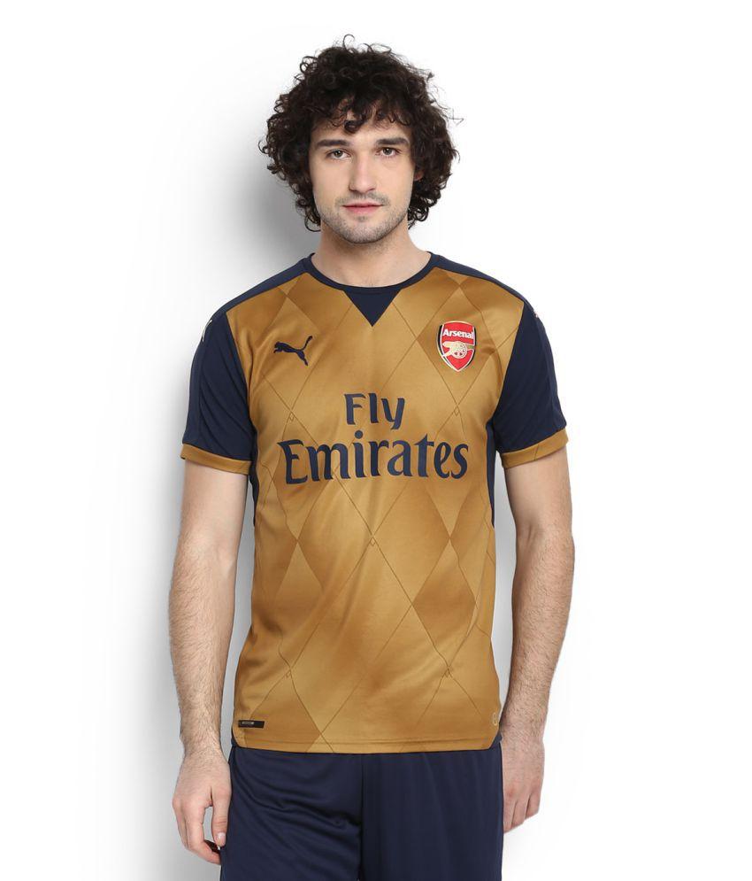 Puma Gold Round T-Shirt