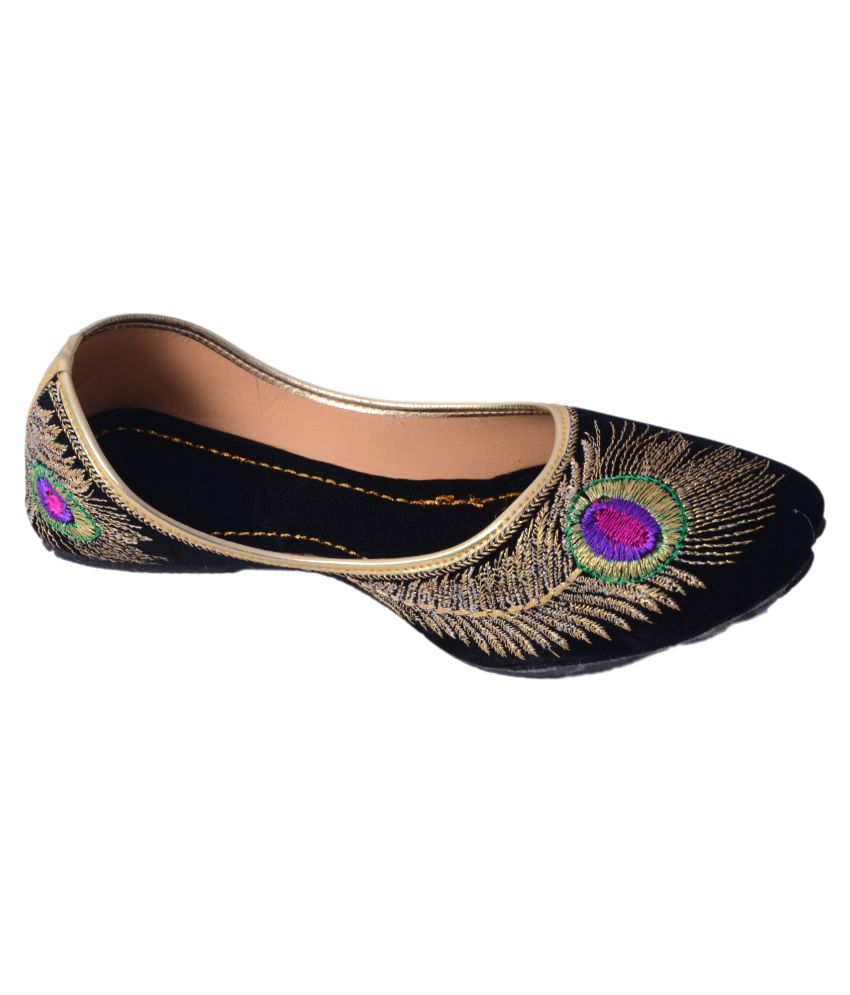 Rajotsav Multi Color Flat Ethnic Footwear