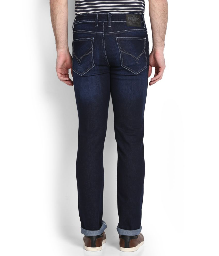Flying Machine Blue Skinny Jeans - Buy Flying Machine Blue ...