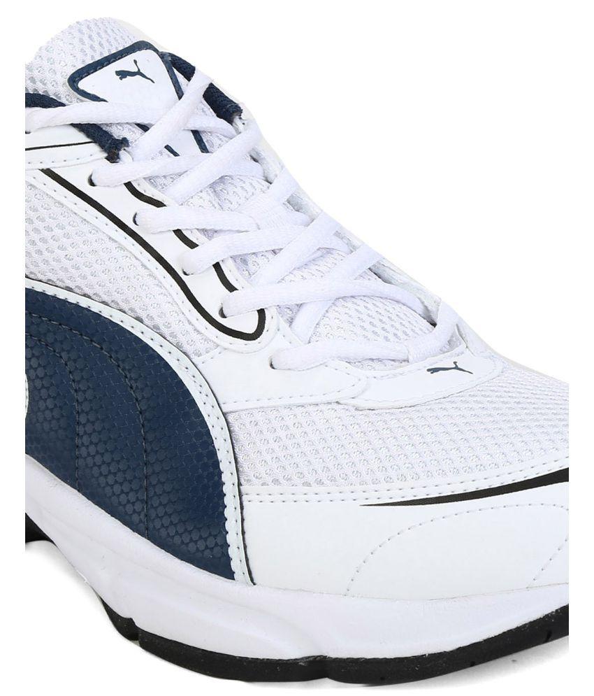 97f6cee388c Puma Aron Ind. White Running Shoes - Buy Puma Aron Ind. White ...