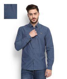 Wrangler Blue Men-shirts