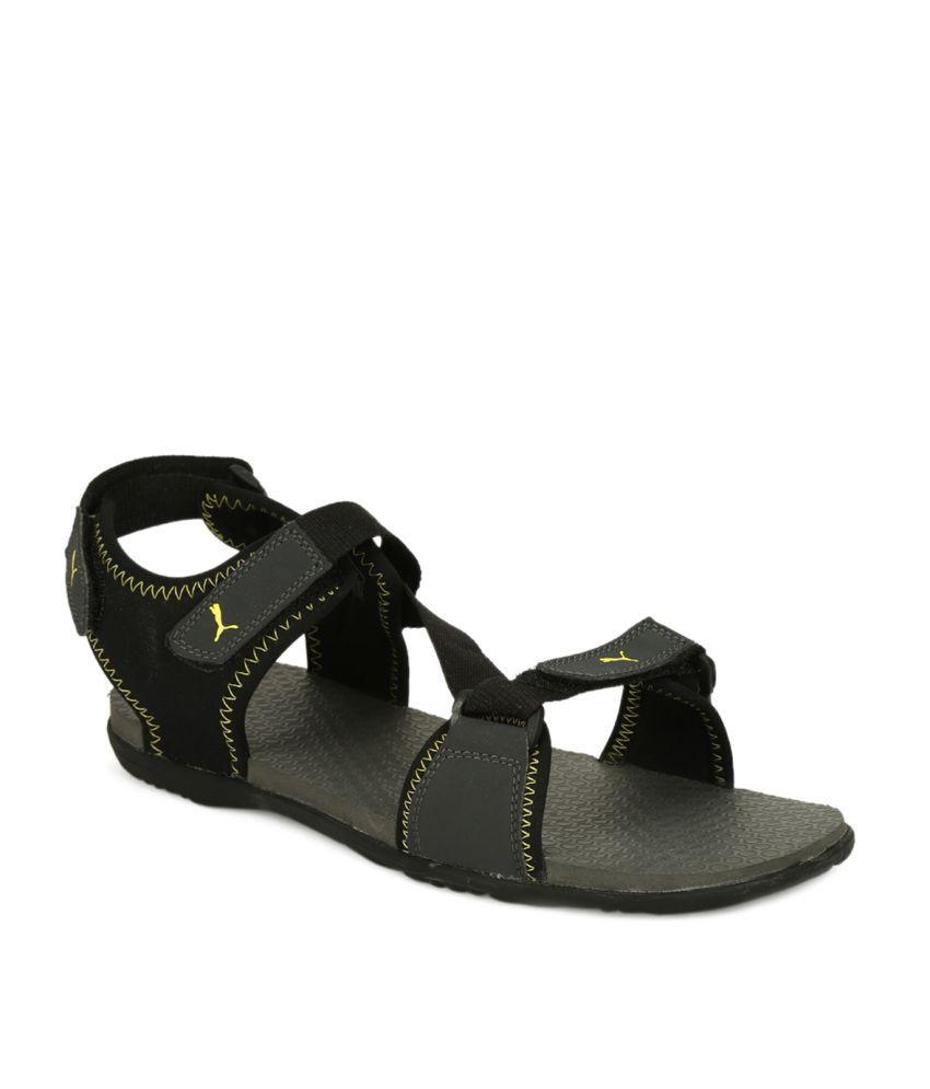 Puma Royal IDP Black Floater Sandals