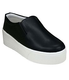 Beonza Black Casual Shoes
