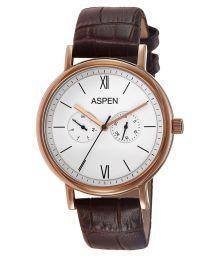 Aspen Brown Analog Dial Mens Watch - Am0076