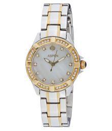 Aspen Silver Brass Analog Watch