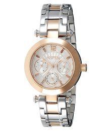 Aspen Silver Chronograph Women Watch - Ap1822