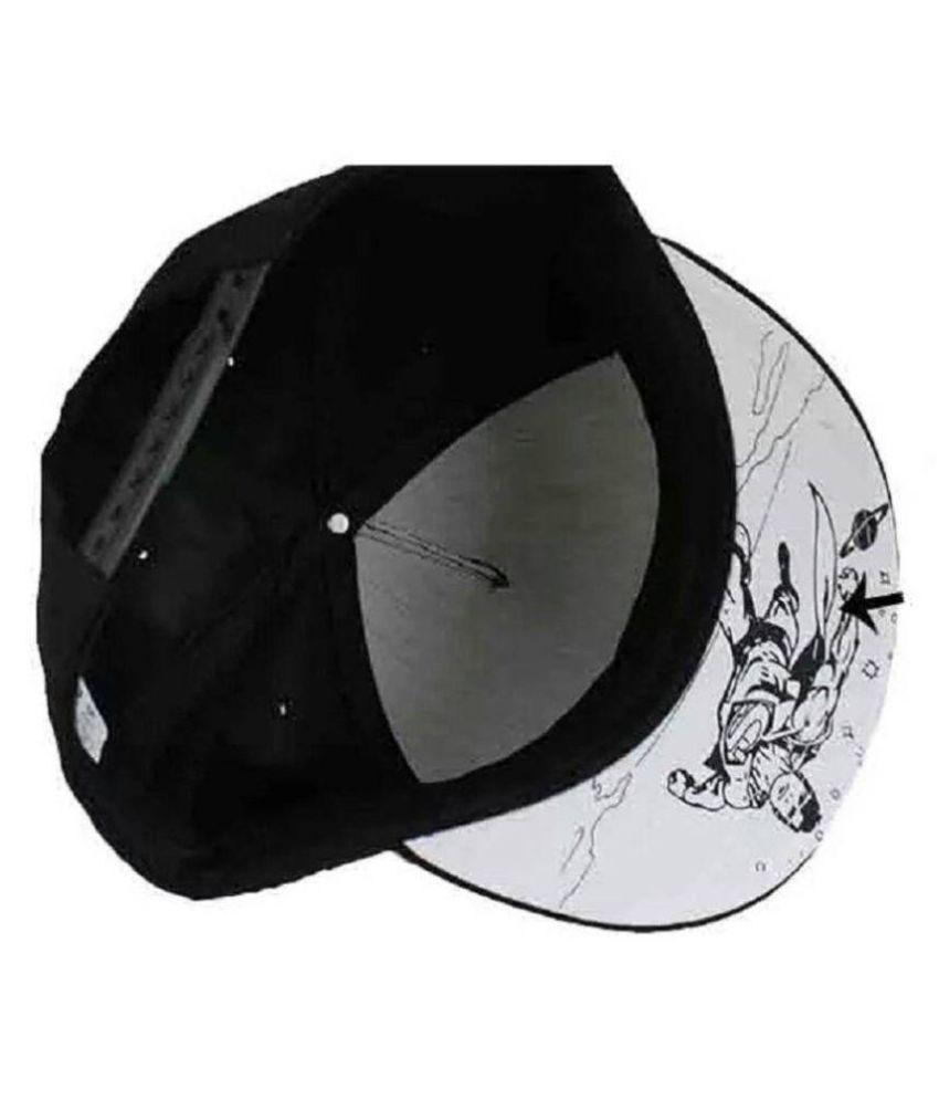 4fb47d6854e7b FAS Superman Black Printed Cotton Caps - Buy Online   Rs.