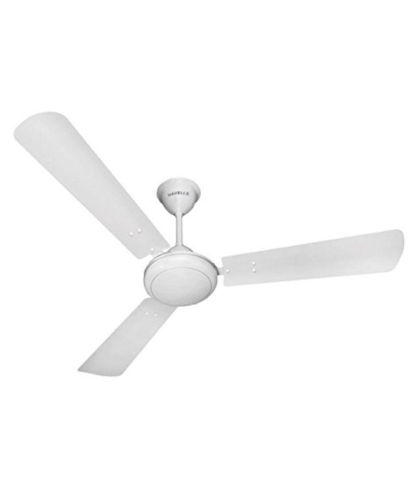 Havells ss 390 1200mm 68 watt metallic ceiling fan pearl white and havells ss 390 1200mm 68 watt metallic ceiling fan pearl white and silver aloadofball Choice Image