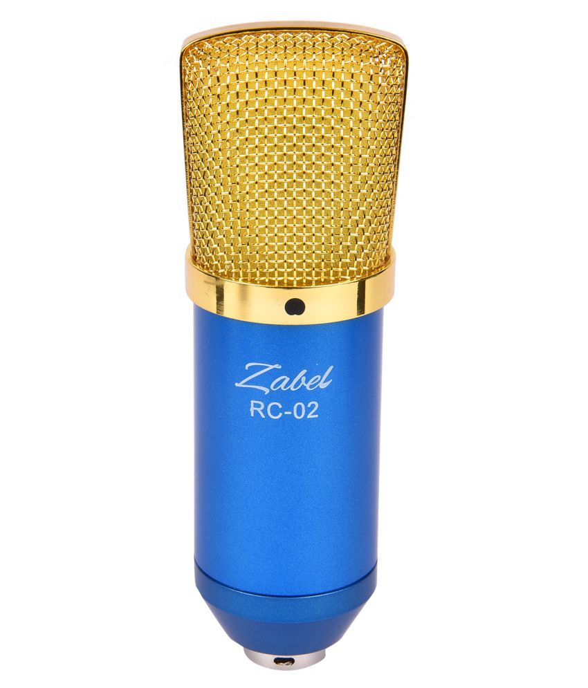 zabel rc02 bl condenser microphone buy zabel rc02 bl condenser microphone online at best price. Black Bedroom Furniture Sets. Home Design Ideas