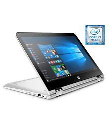 HP Pavilion x360 13-u104TU 2 in 1 Notebook (7th Gen Intel Core i3- 4GB RAM- 1TB HDD- 33.78cm (13.3)- Windows 10) (Silver)