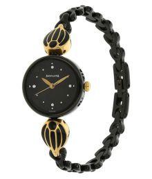 Sonata 8133km01 Black Analog Watch