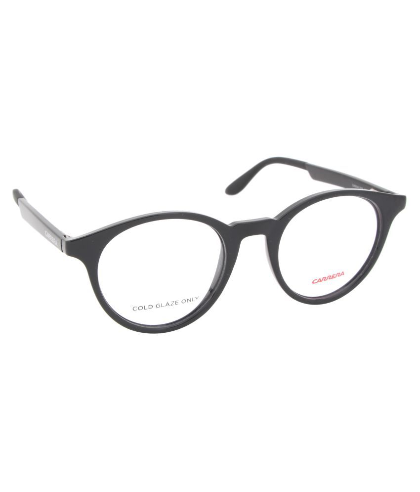 dda55805de6 Carrera Black Round Spectacle Frame CA5544 D28 4820 - Buy Carrera Black  Round Spectacle Frame CA5544 D28 4820 Online at Low Price - Snapdeal