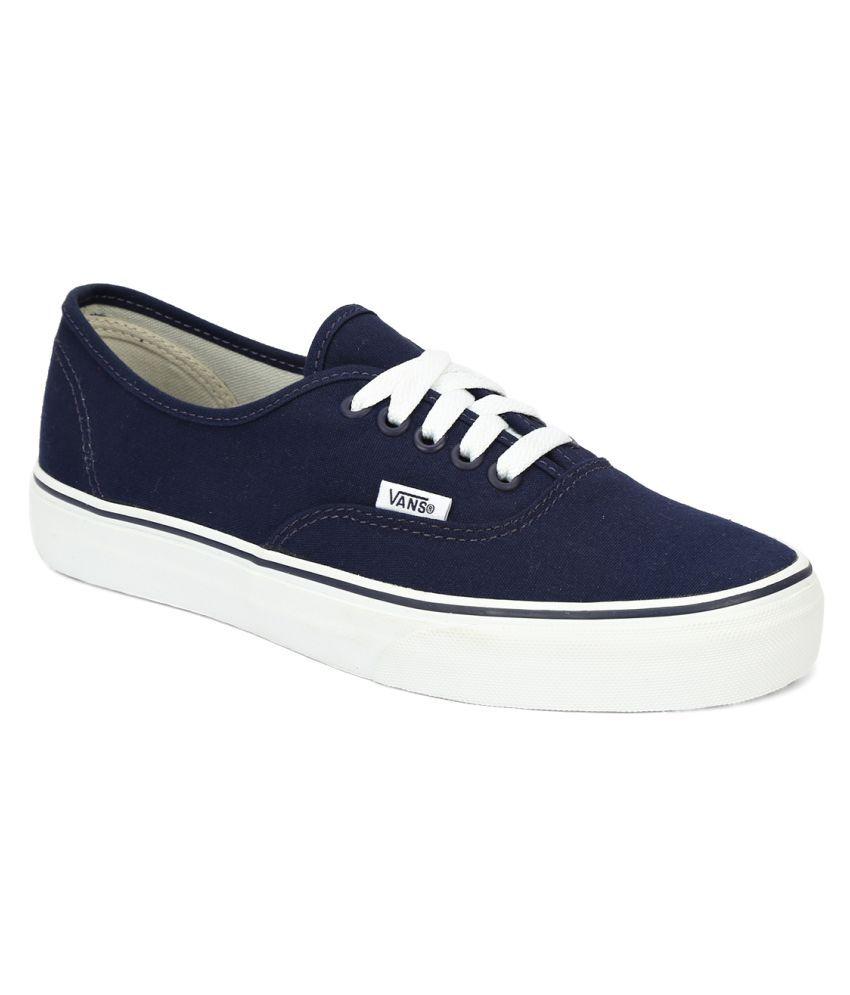 Vans Authentic Sneakers Blue Casual