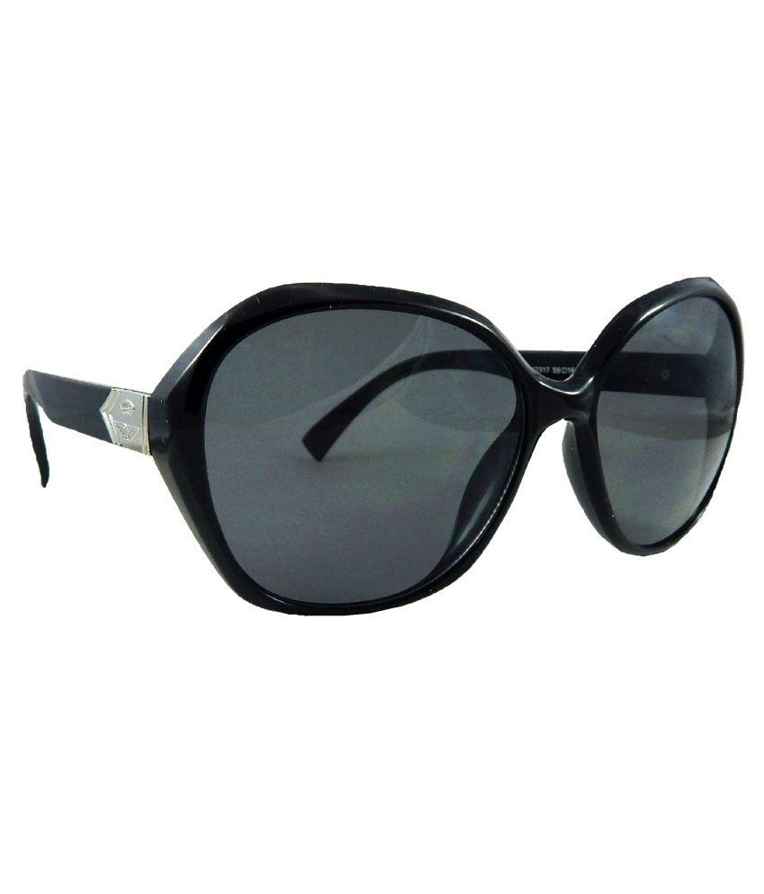 ELS Black Bug Eye Sunglasses ( Cold-K-2317 )