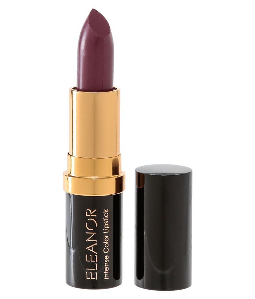 ELEANOR Intense Color Lipstick Lipstick L12 Currant SPF 15 3.6 gm