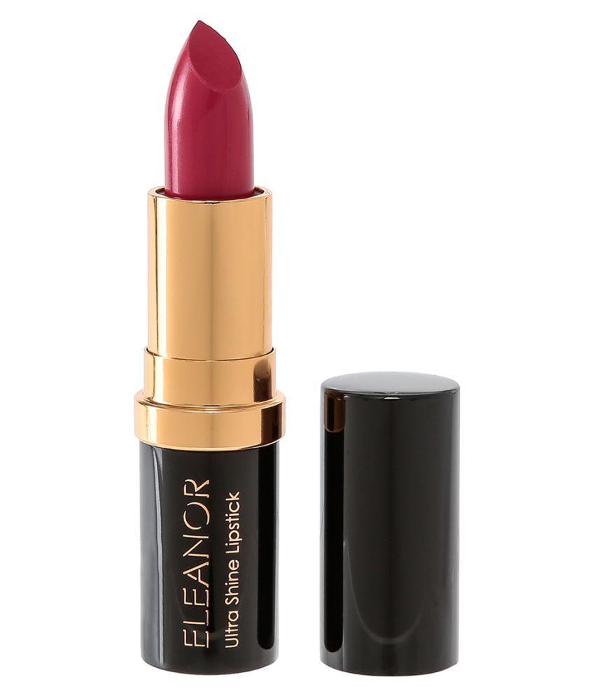 ELEANOR Ultra Shine Lipstick Lipstick L06 Cranberry 3.4 gm