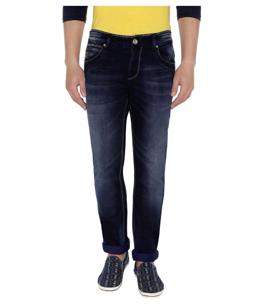 Espada Navy Blue Slim Jeans