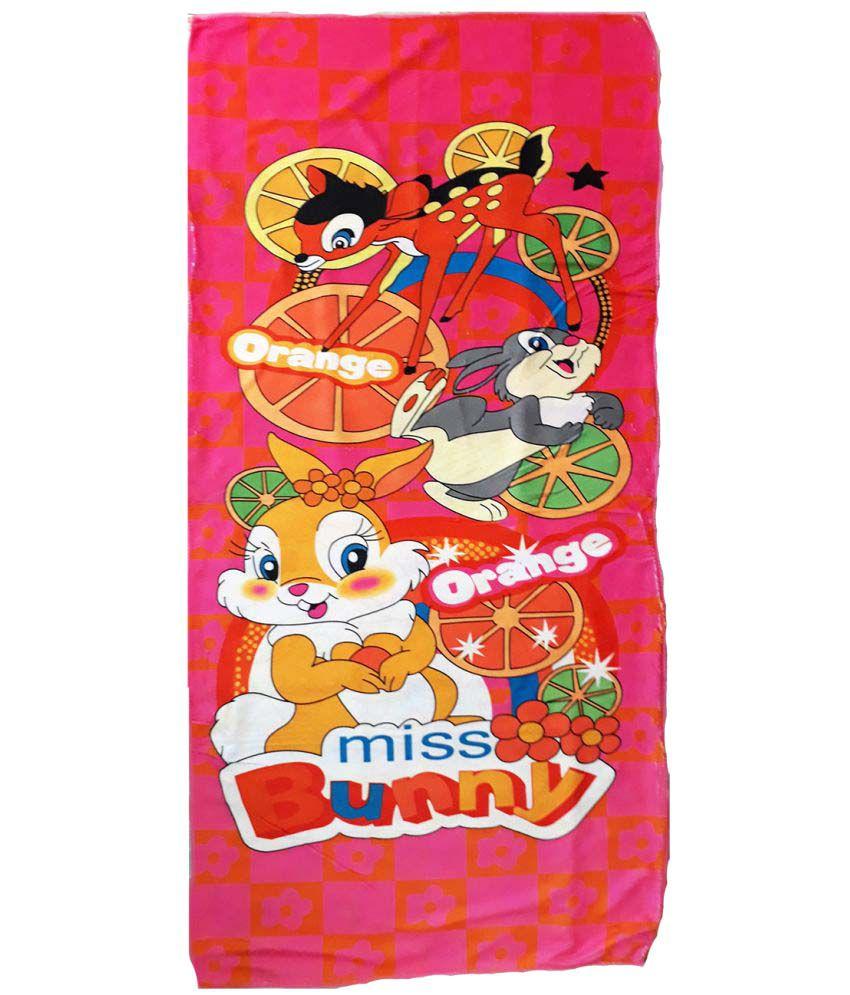 Catman Multi Cotton Bath Towels 1 Kids Towels
