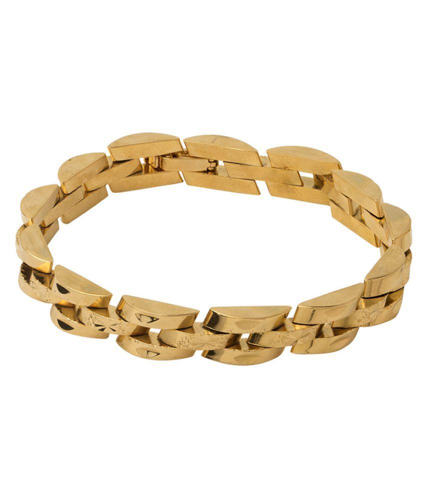 Dare Golden Bracelet For Men