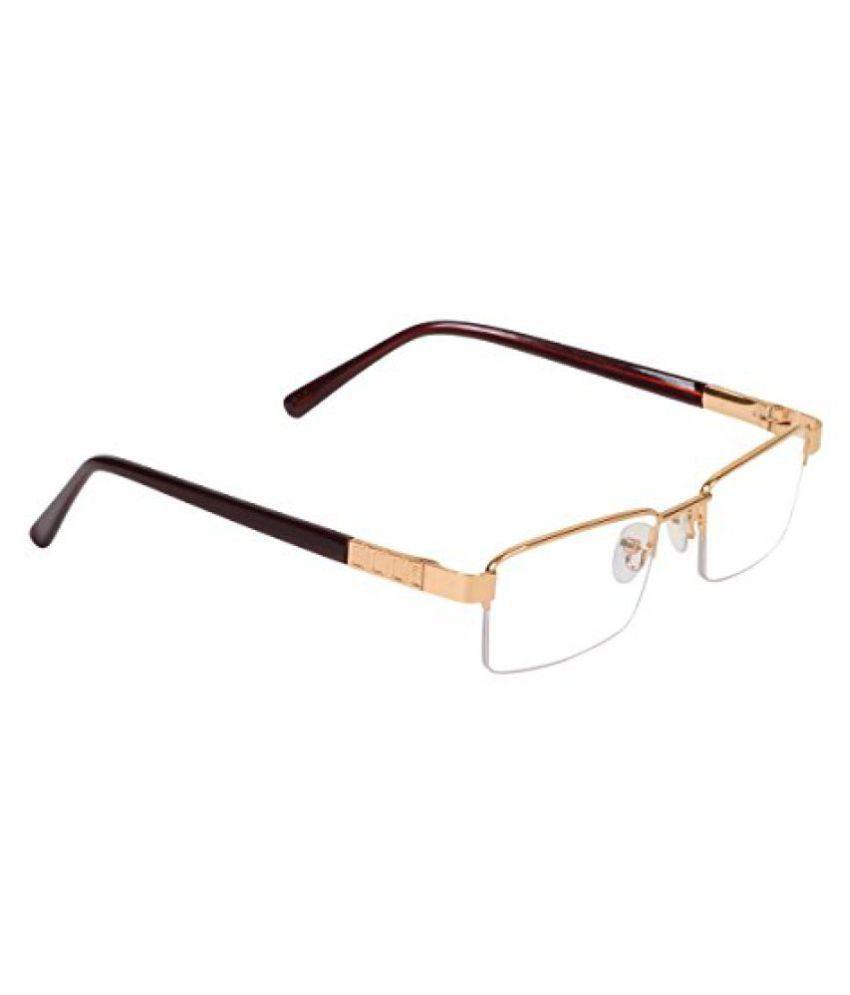 Hawai Golden Half Rim Eyeglass
