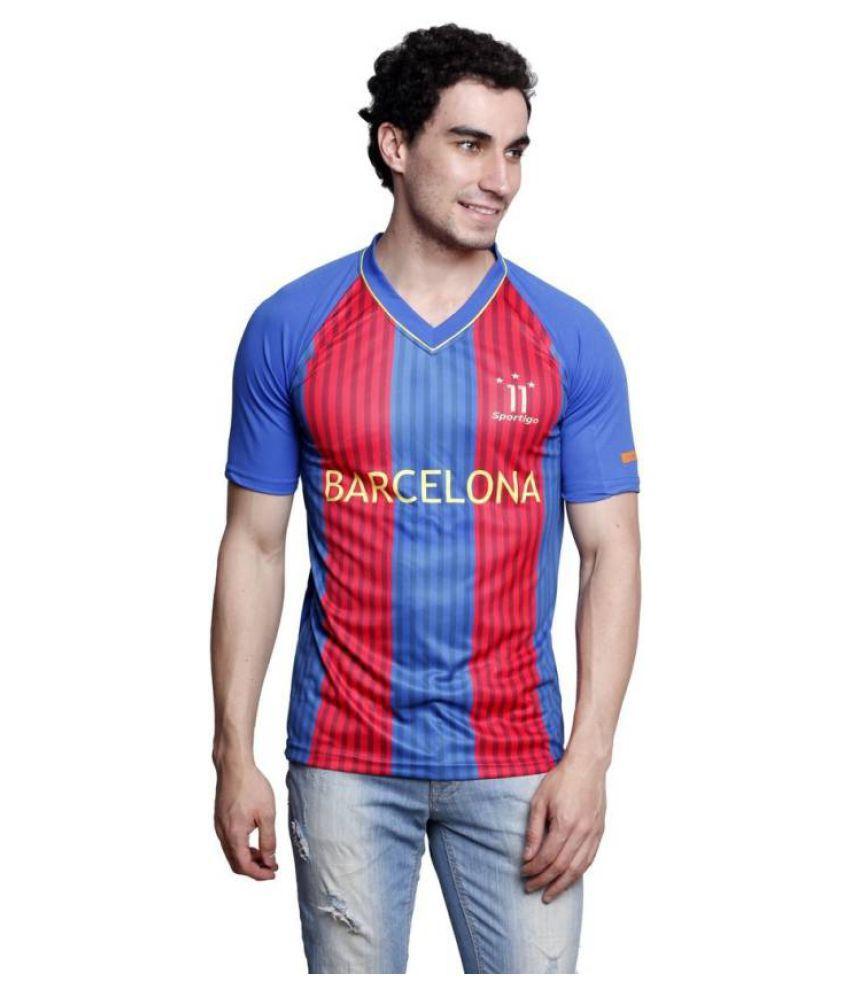 Sportigo Polyster Football T-Shirt