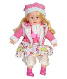 Aarushi Girl Stuffed Toy for Kids