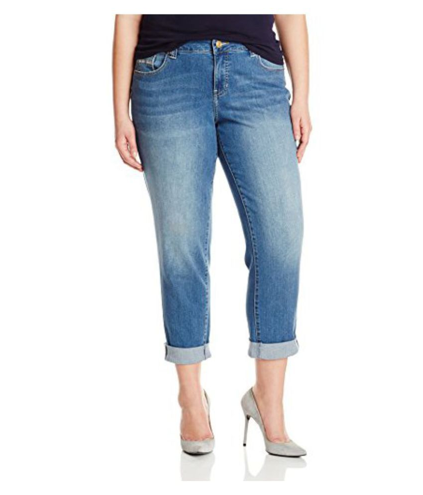 5603971d0cac1 Buy Jag Jeans Women s Plus-Size WM Alex Boyfriend Jean Online at Best Prices  in India - Snapdeal