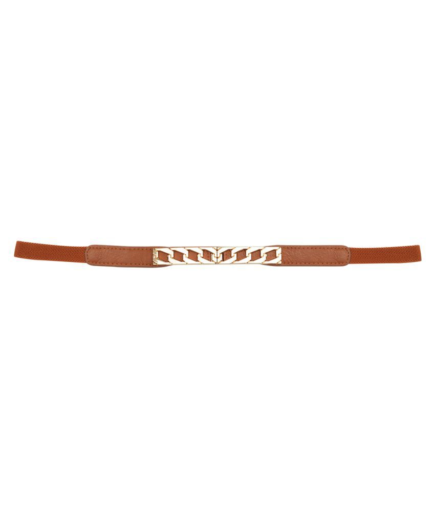 6b69e047efc Kazo Brown Fabric Casual Belts: Buy Online at Low Price in India - Snapdeal