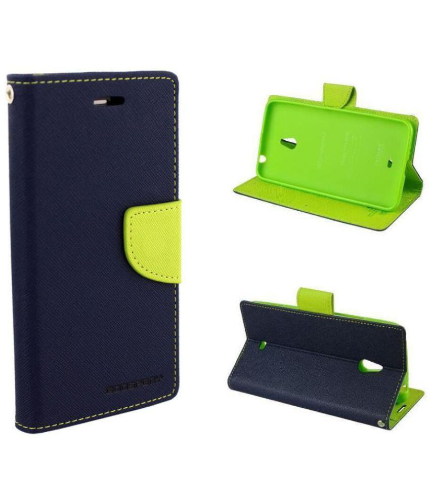 Xiaomi Mi4i MZB4300IN Flip Cover by Byindo - Blue