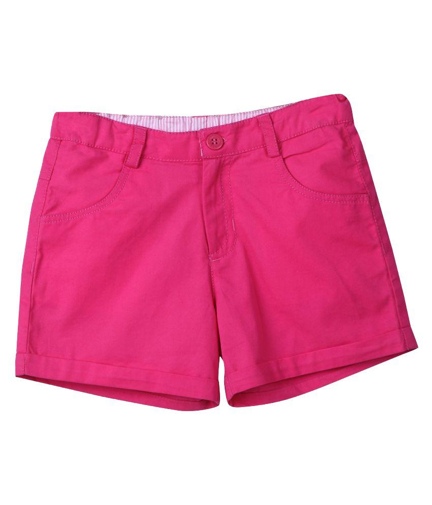 Beebay Pink Shorts