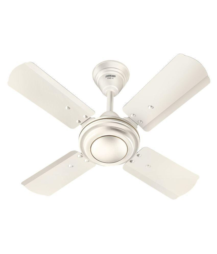 Eveready 600mm Ceiling Fan Cream