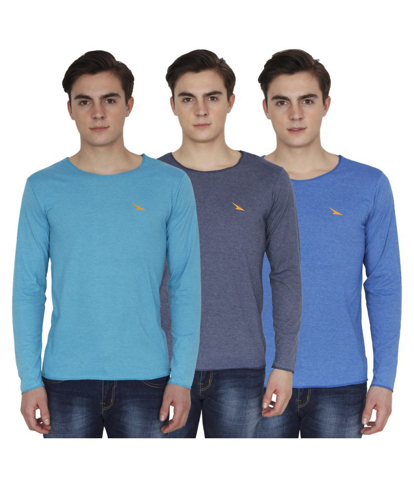 PRO Lapes Multi Round T-Shirt Pack of 3