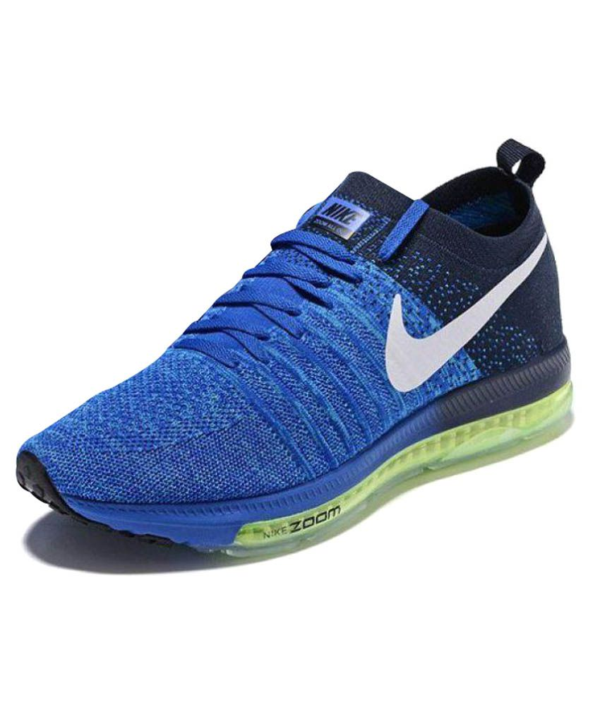 Nike Allout Blue Running Shoes ...