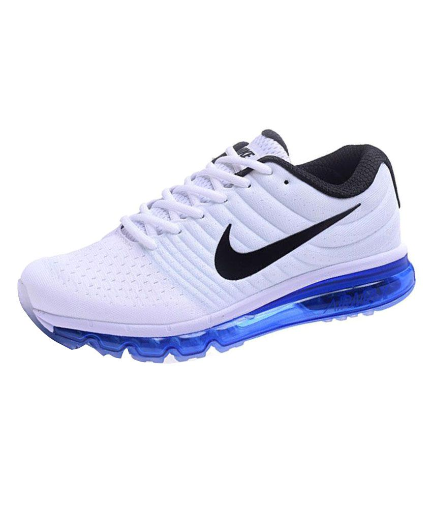 4dfdfbbe4ee68 Nike Airmax 2017 White Running Shoes - Buy Nike Airmax 2017 White ...