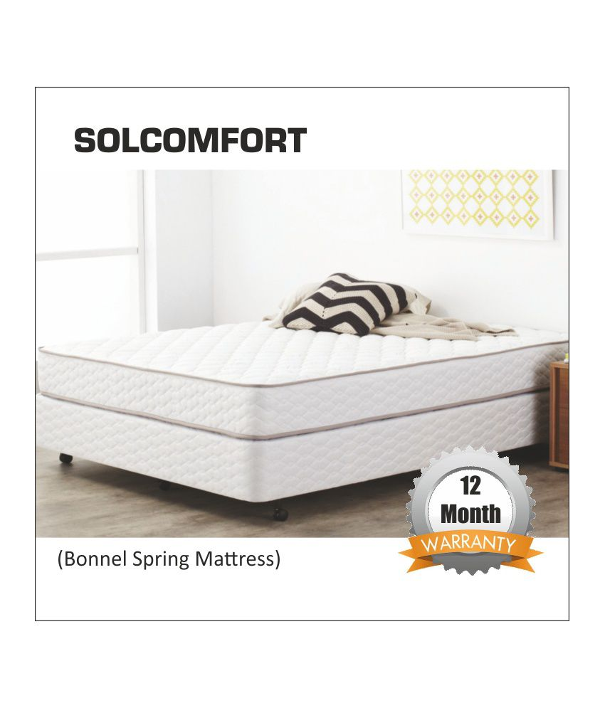 sleep innovations solcomfort 12 7cms 5 inches spring mattress buy