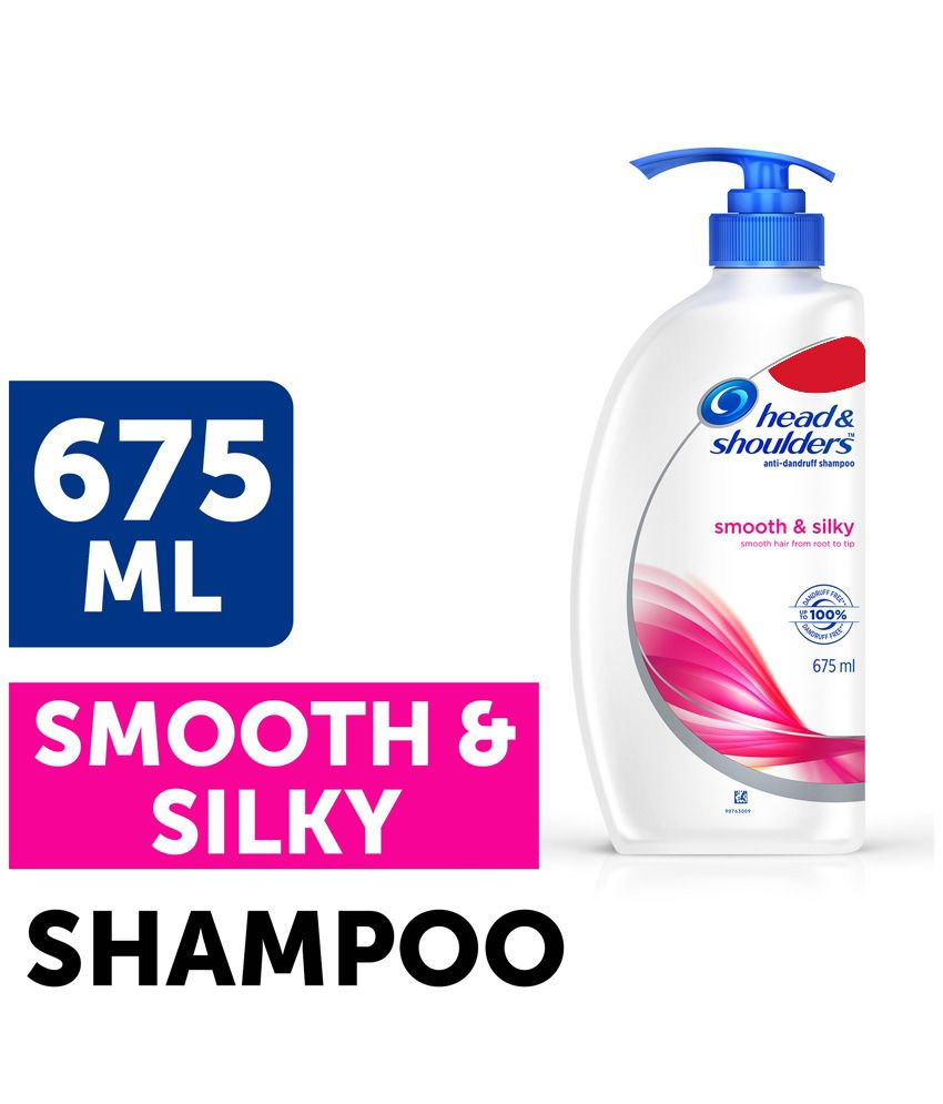 Head Shoulders Smooth Silky Shampoo 675 Ml Buy Samphoo And New