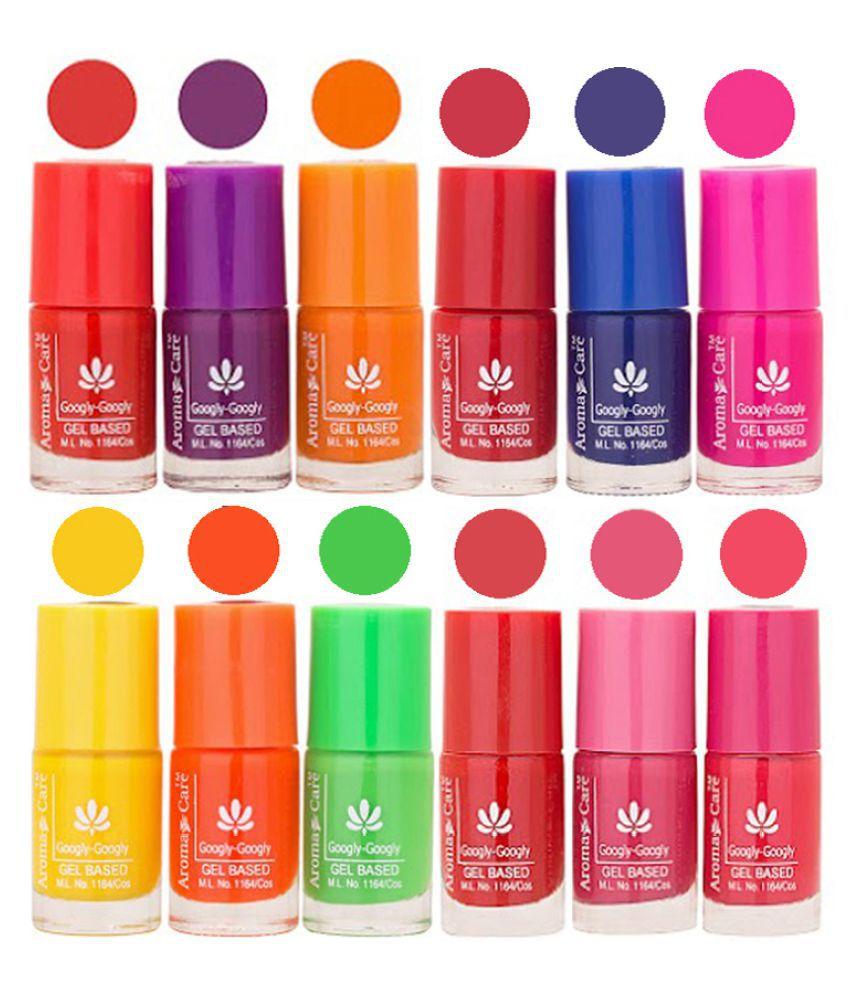 Aroma Care Nail Polish Multicolor Matte 72 ml