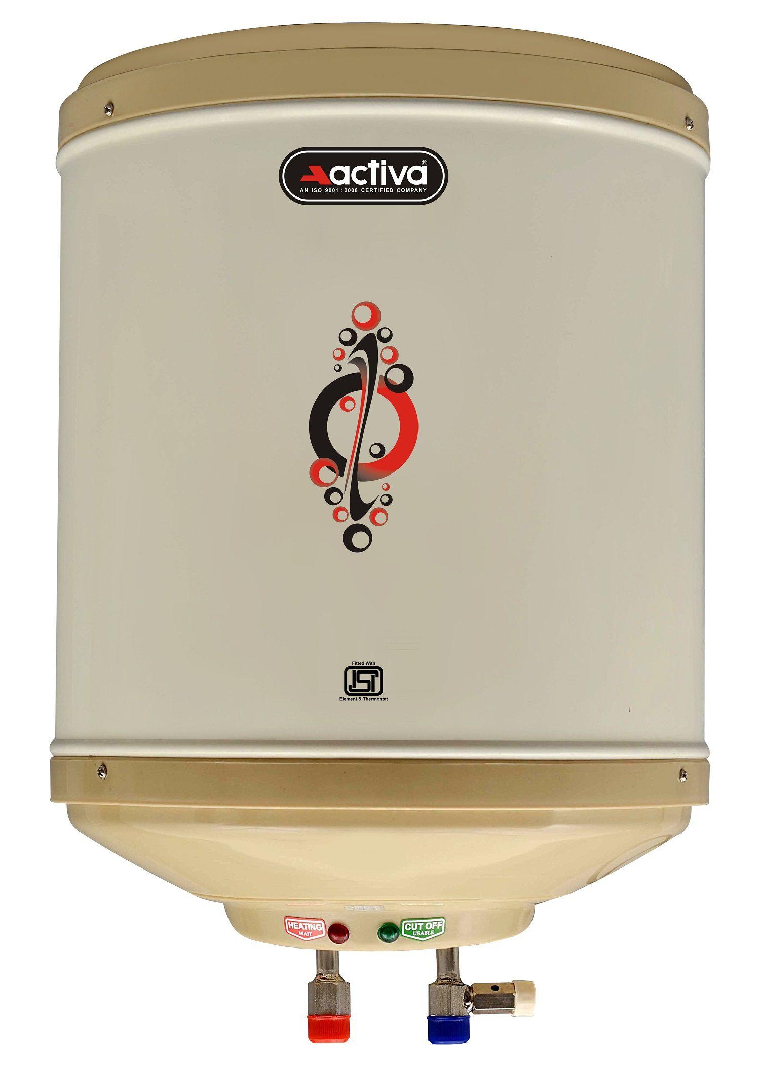 Activa 10 Ltr Amazon Instant Geyser Ivory