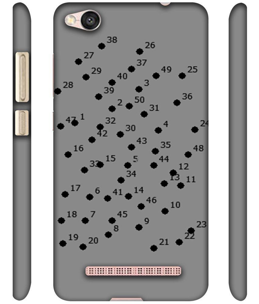 lowest price 9a26f 32fbc Xiaomi Redmi 4A Printed Cover By NattyCase